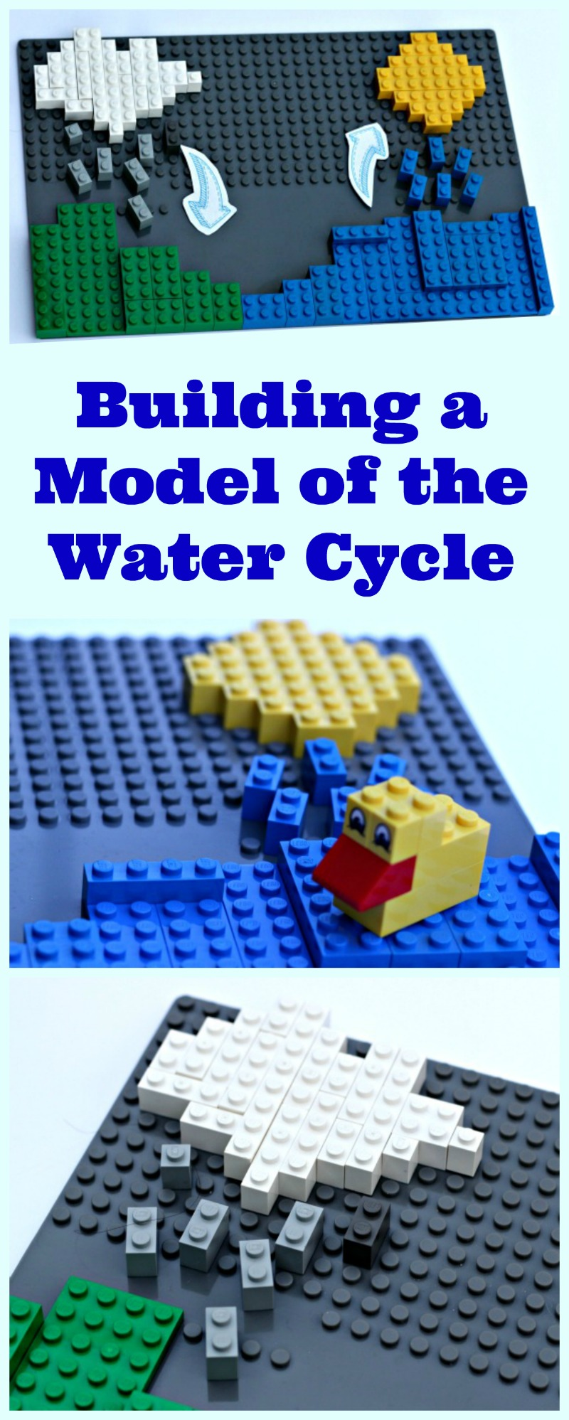 The Water Cycle: an easy science project for kids