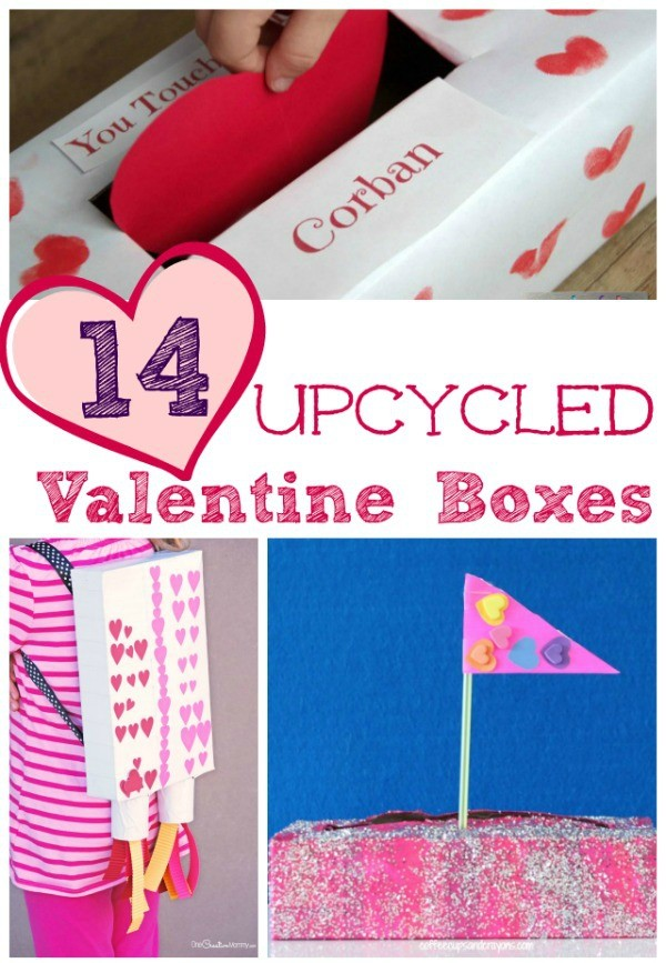 14 Easy Valentine Box and Card Holder Ideas