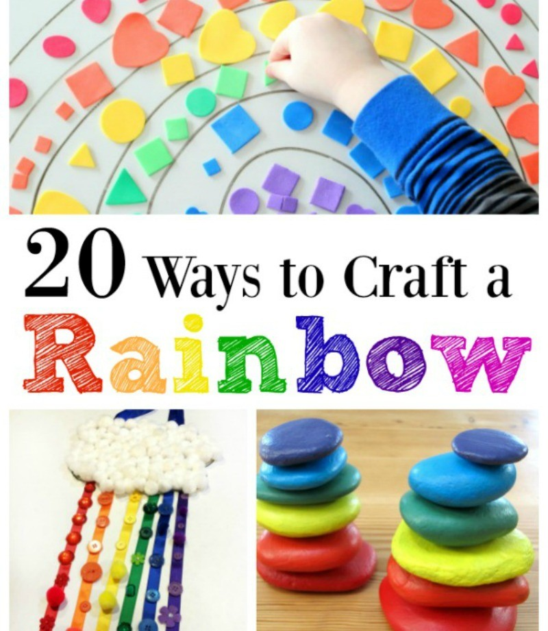 20 Rainbow Craft Ideas for Kids