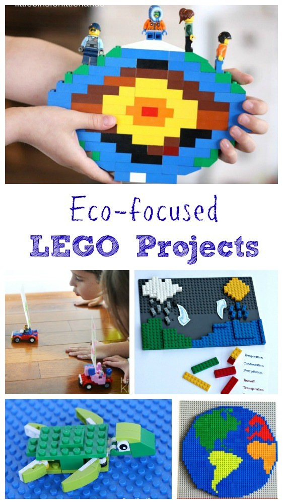 12  Earth-themed Lego STEM Projects