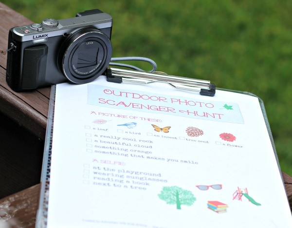 Outdoor Photo Scavenger Hunt