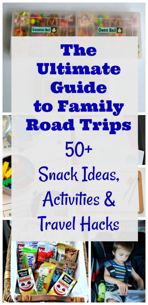 50 Road Trip Hacks, Activities & Tips