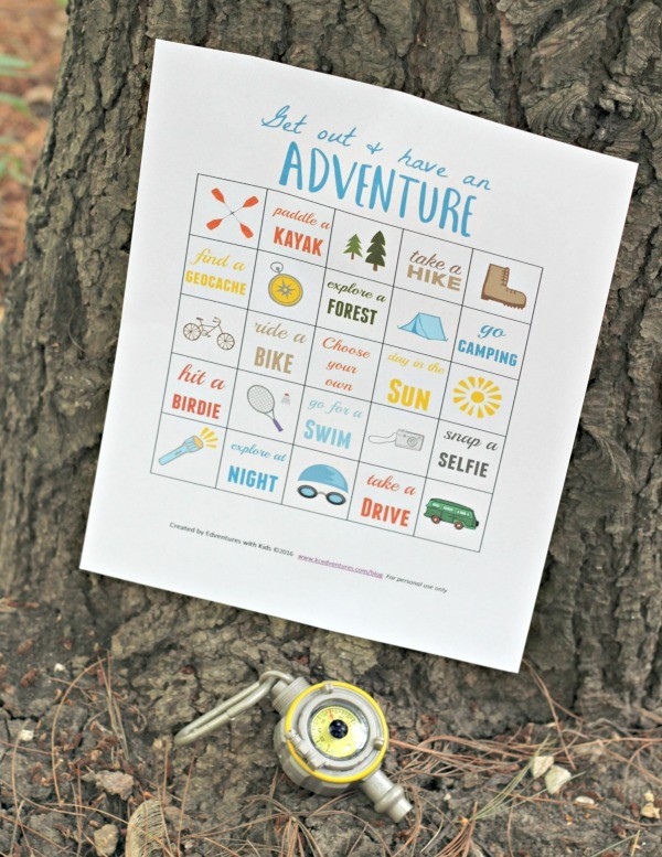 Enjoy an Outdoor Family Adventure {with free printable}