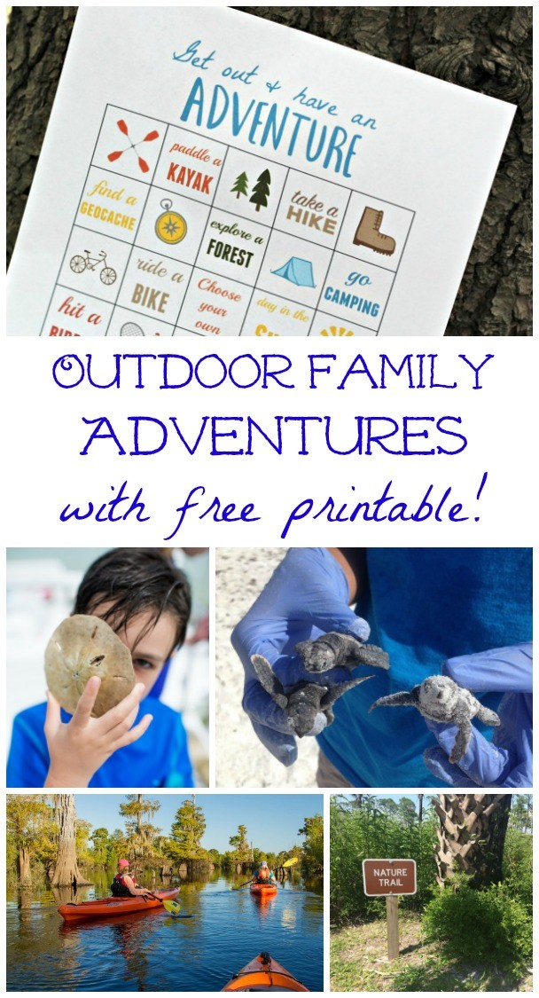 Outdoor Adventures for families