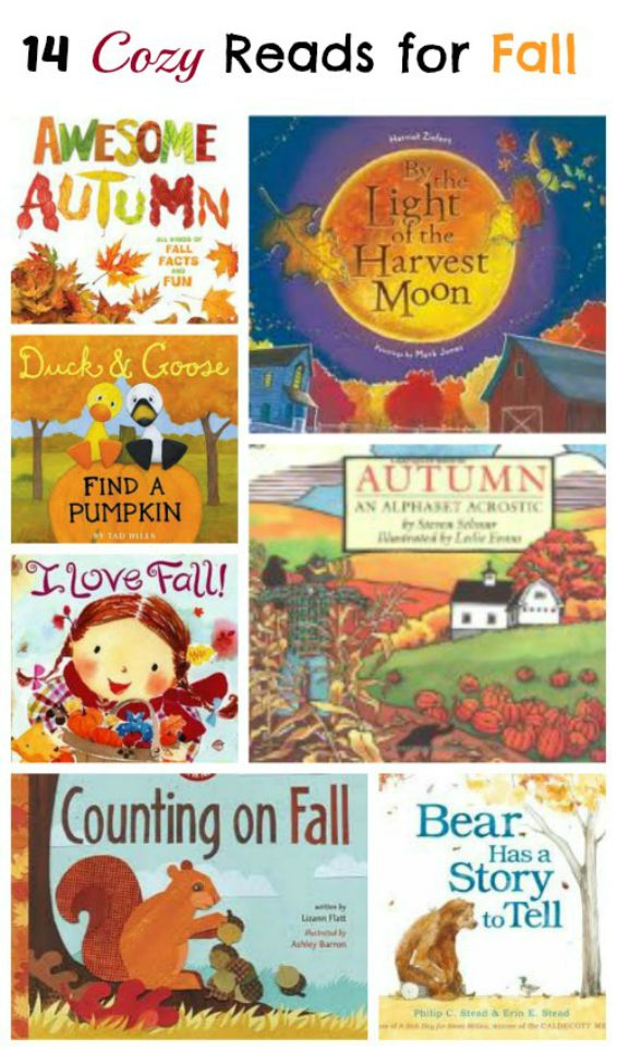 Books about Fall that preschoolers and kids will LOVE!