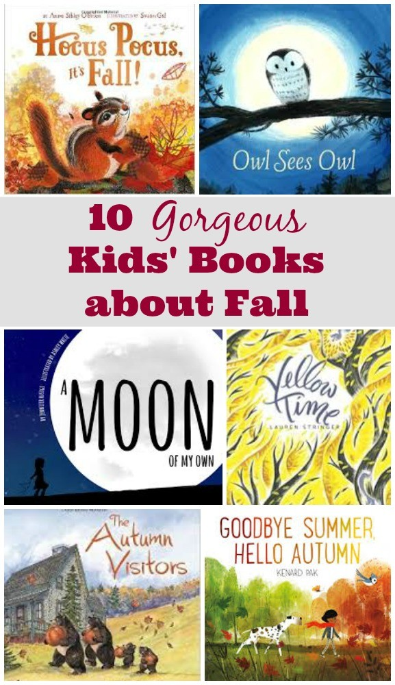 10 New Kid's Books about Fall