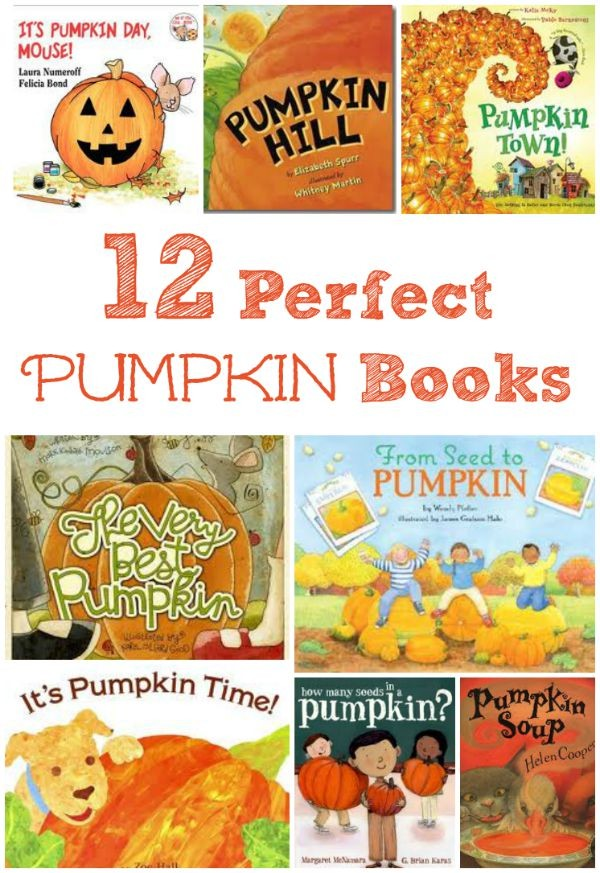Great books for kids about fall, pumpkins and fun autumn activities!