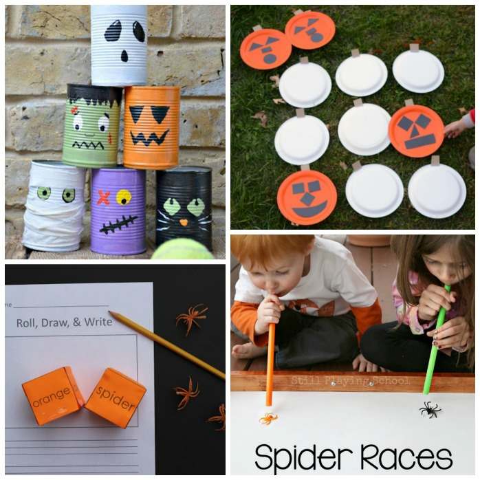 Fun Halloween and Fall themed games for kids