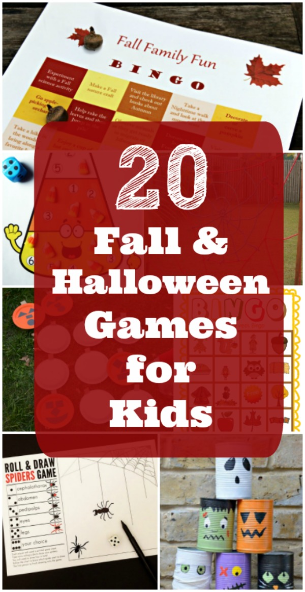 20 Fall Games for kids and adults - Indoor, Outdoor, Halloween games and more!
