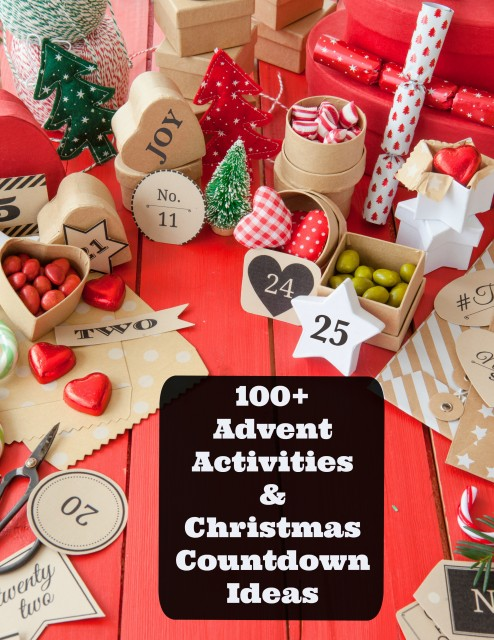 Printable activities for a Christmas countdown