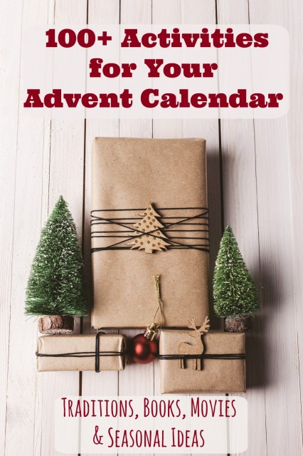 100+ Printable Advent Calendar Ideas & Christmas Countdown Activities