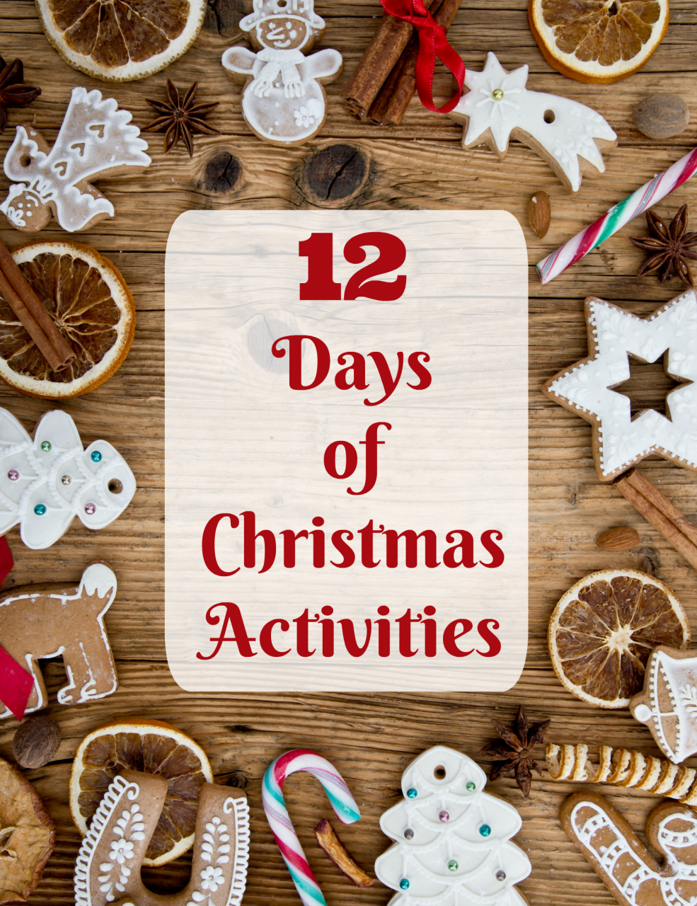 12 Days of Christmas Activities {with printables!}