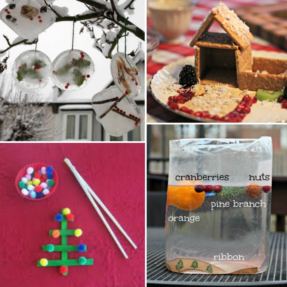 30 Christmas Science Experiments & STEM Activities