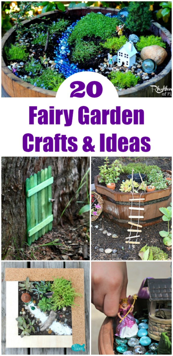 20 fairy play mini garden ideas edventures with kids for Ideas for your garden