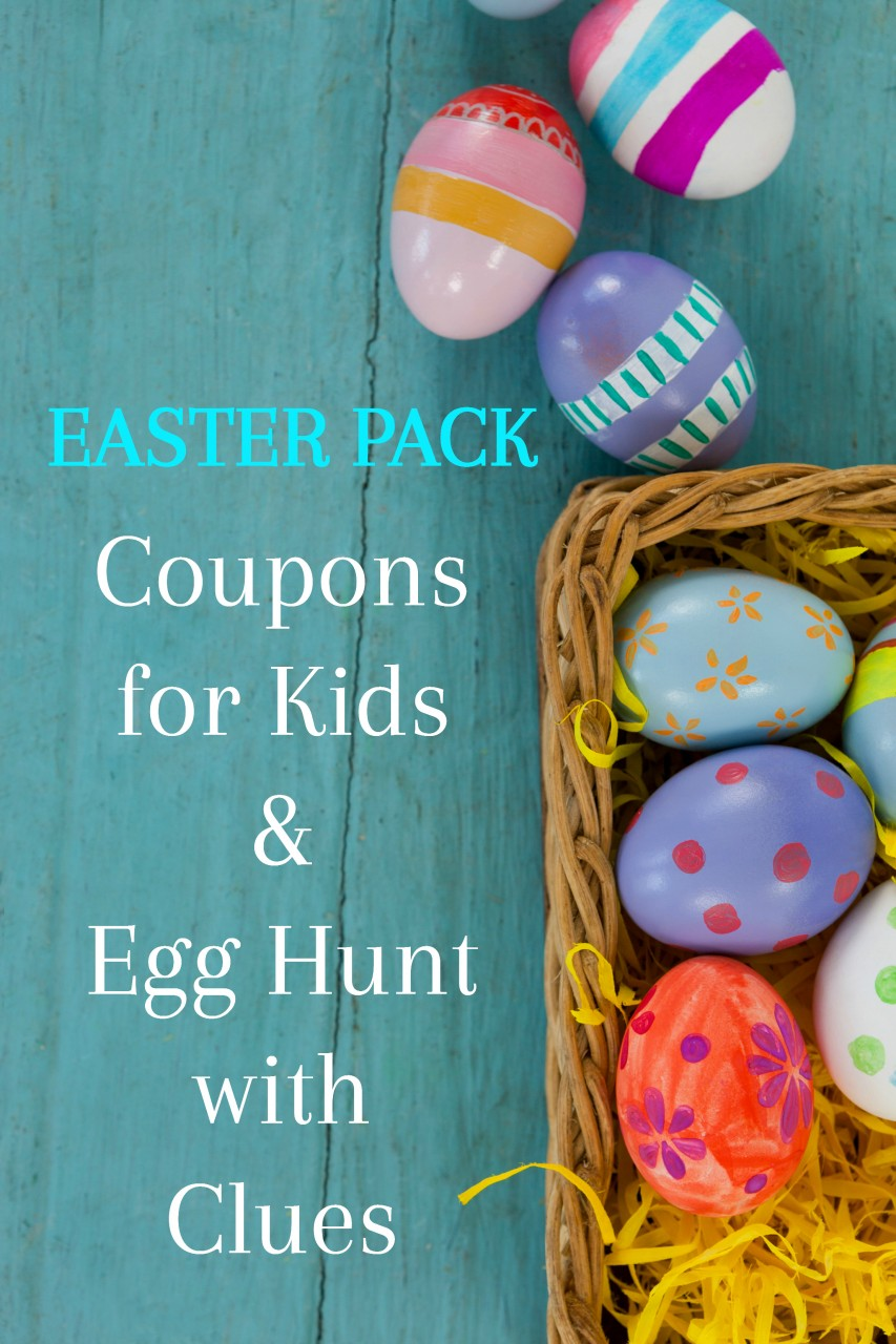 picture relating to Egg Coupons Printable known as Printable Easter Discount codes for Youngsters Youngsters Non Sweet