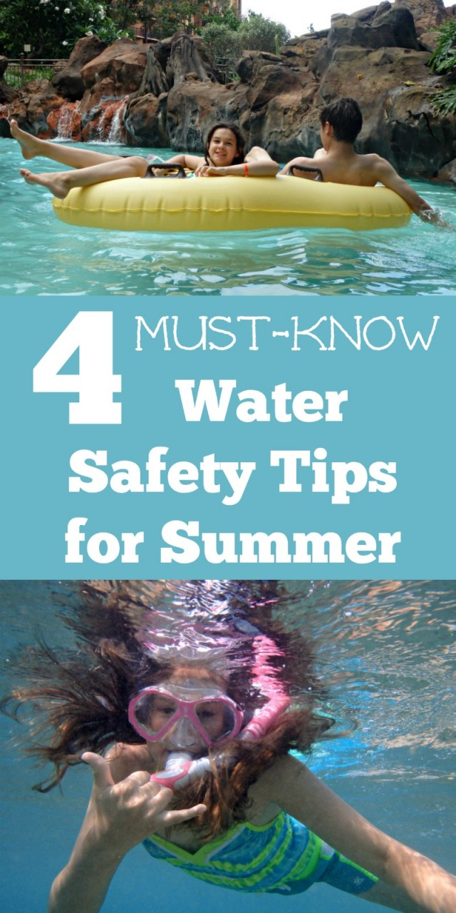 Summer water safety tips for kids