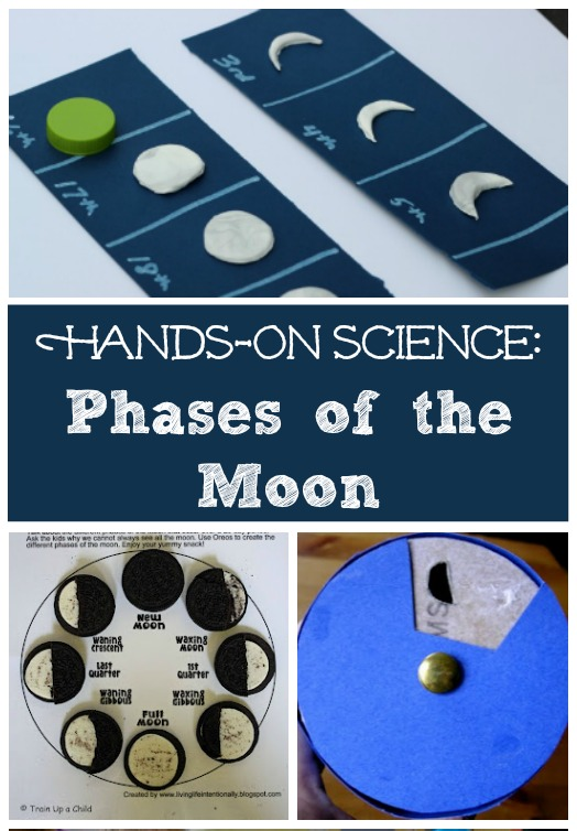 Lunar eclipse activities and phases of the moon