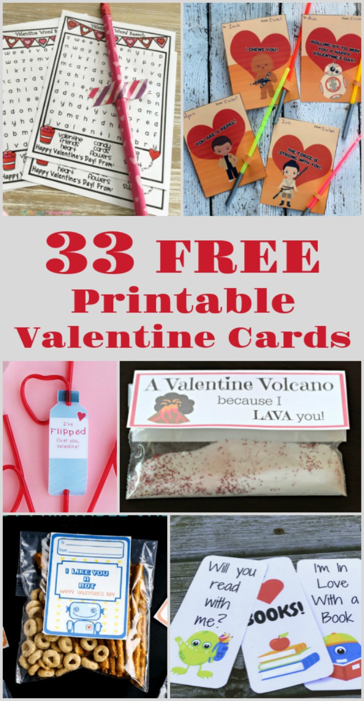 Non Candy Valentine Ideas for kids and class parties