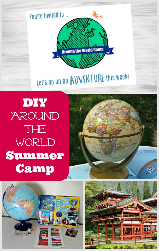 Around the World theme activities for kids
