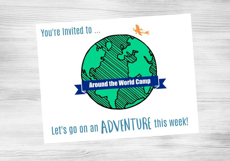 17 Around the World Activities for a DIY Summer Camp