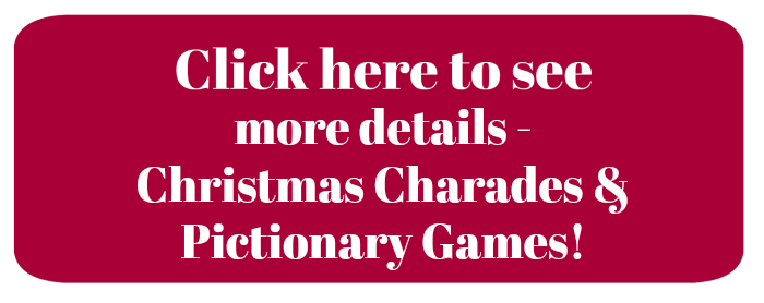 Christmas Pictionary.Holiday Charades Games And Pictionary Words Printable Cards