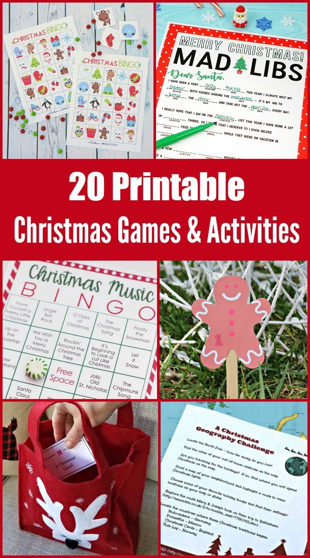 photograph relating to Printable Christmas Games for Adults identified as Xmas Video games and Pursuits for Little ones Grownups w