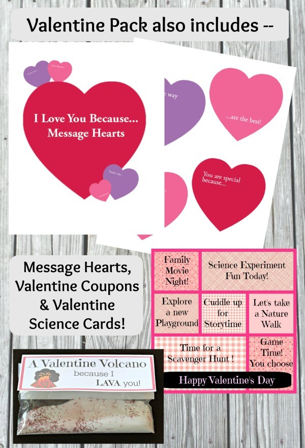 Valentine's Day hunt and messages for kids, tweens and teens