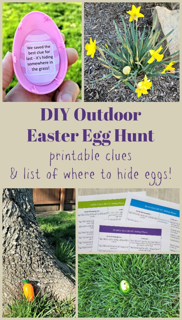 Easter Egg Hunt Clues For Outside Printable Riddles For