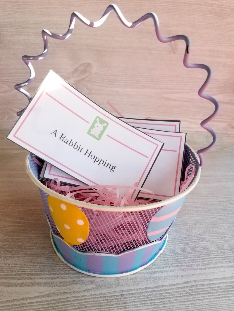 easter charades game