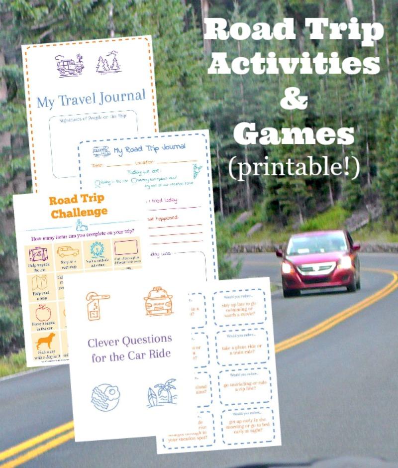 image regarding Printable Road identify 15 Street Holiday Printables: Video games Actions - Edventures