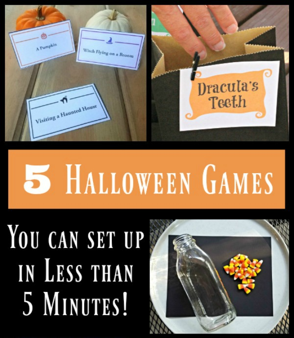 Halloween Party Games For Kids With Free Printables Edventures With Kids