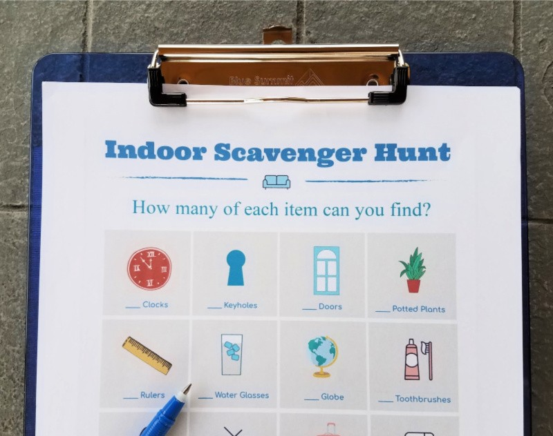printable-indoor-scavenger-hunt