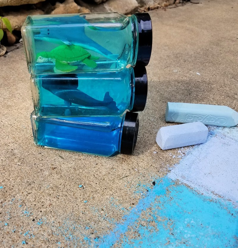 Ocean Activities for Kids - layers of the ocean