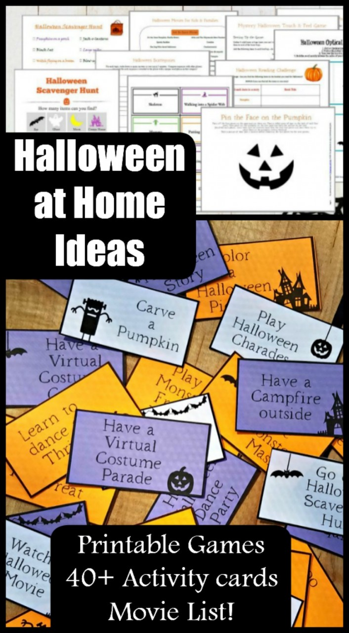 Halloween Scavenger Hunt ideas for trick or treating