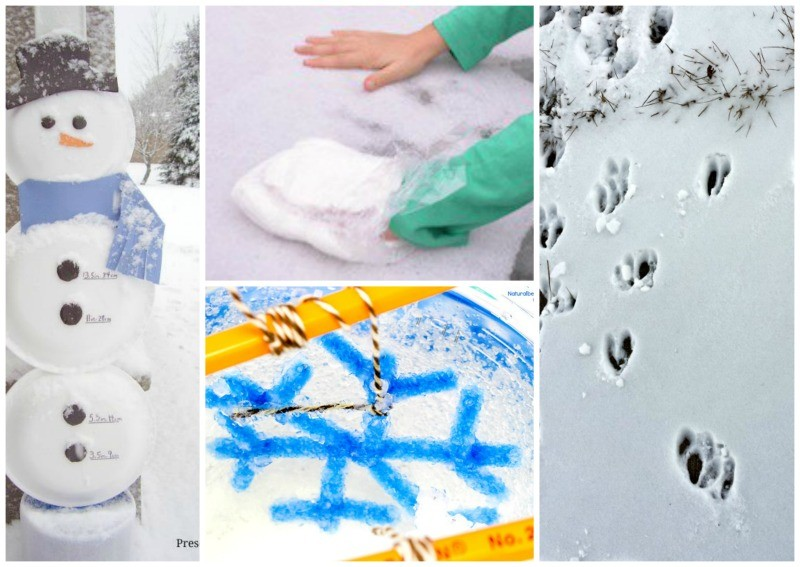 science experiments with snow