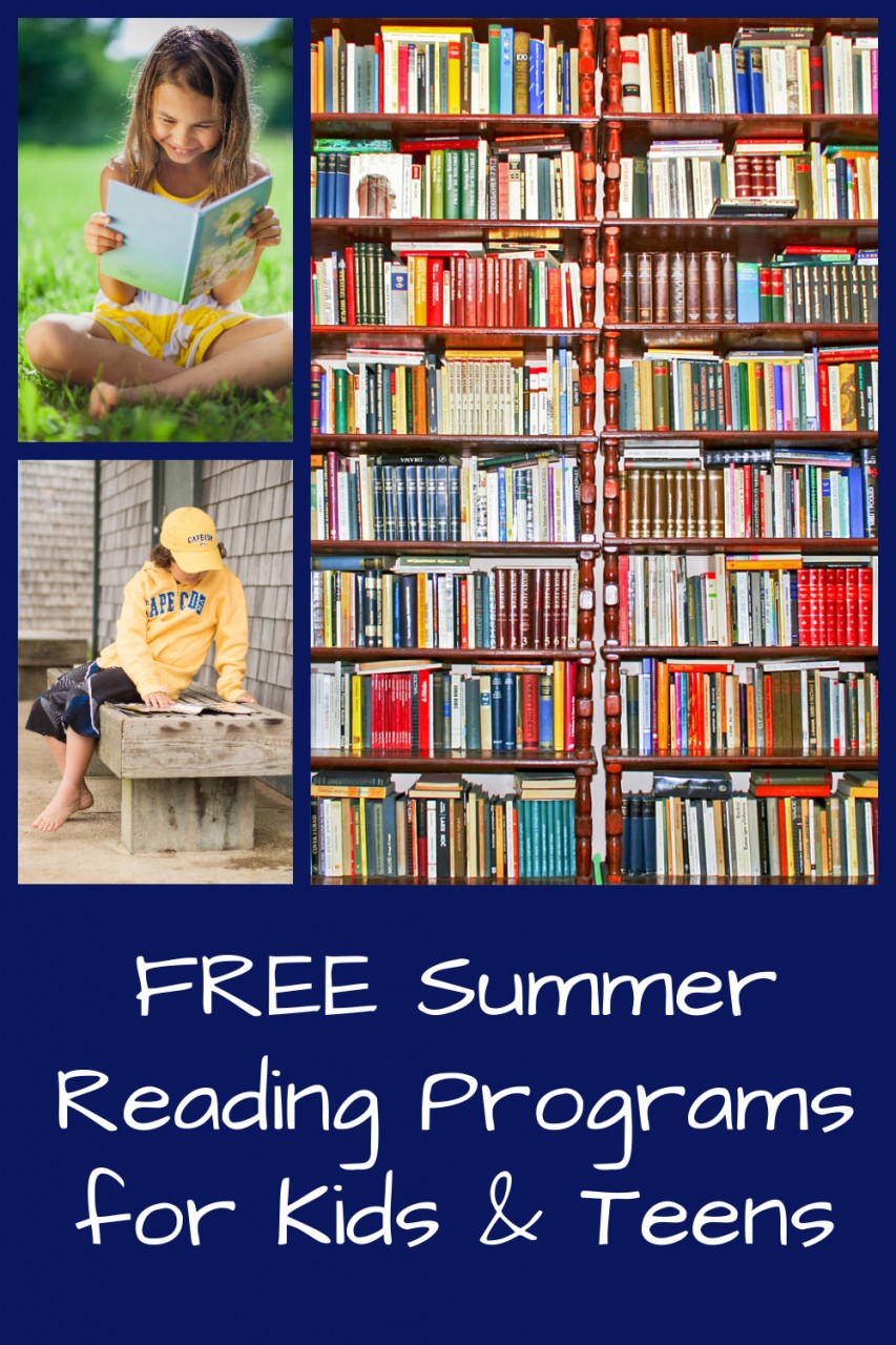 free summer reading programs and books for kids