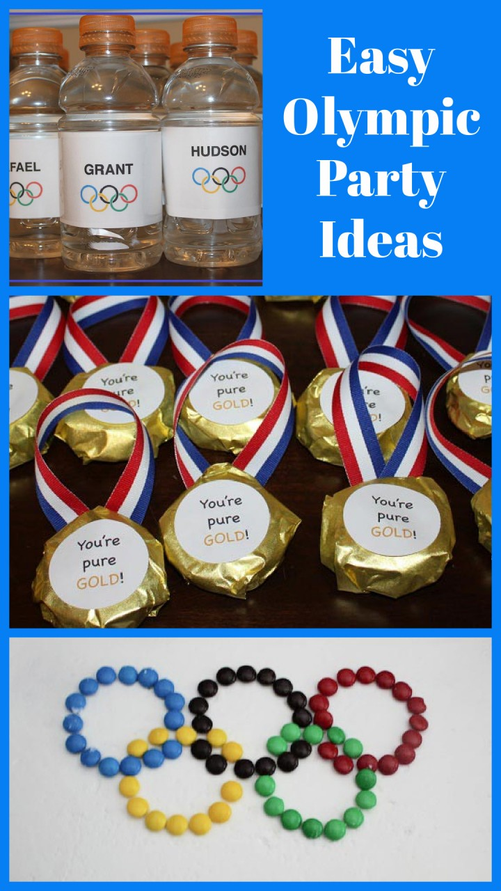 Olympic activities and party ideas for kids