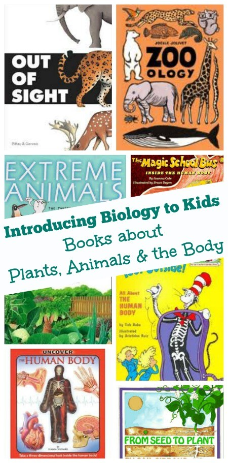 Science for Kids:  Books and Websites that Explore Biology