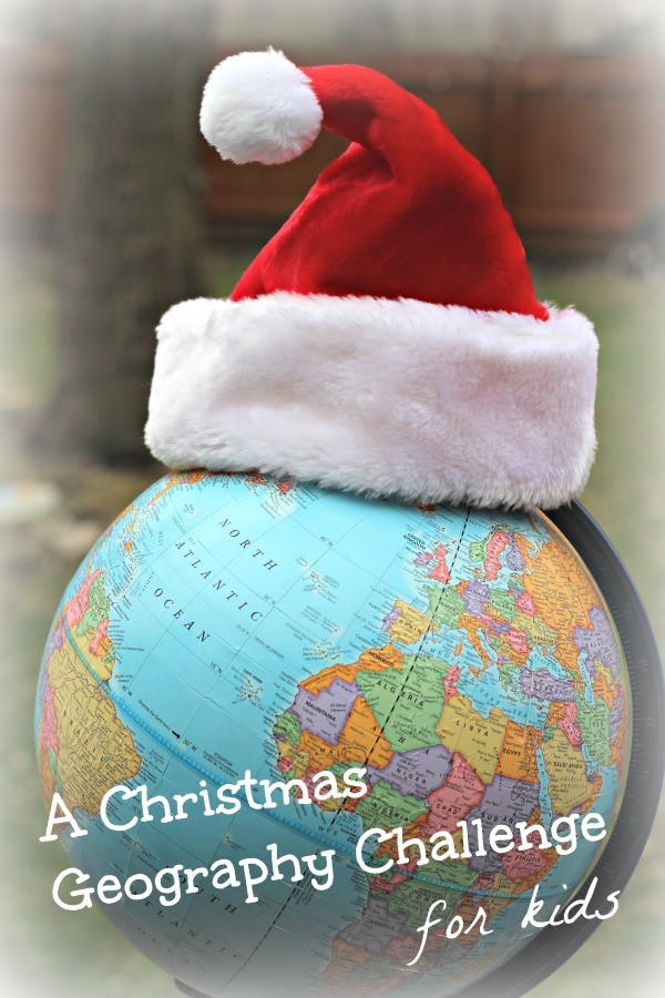 Christmas Around the World: Map Activity {w/free printable!}