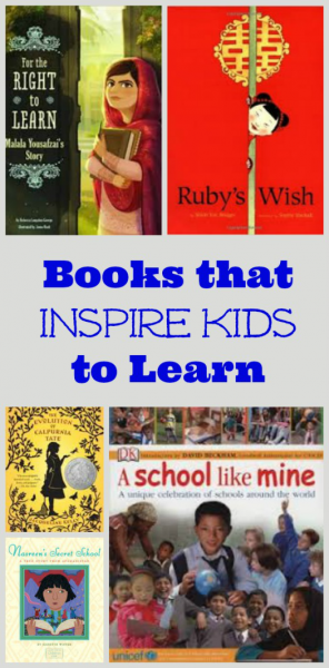 Books that Inspire Kids to Learn and go to school