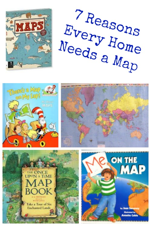 Fun Ways to Use Maps at Home |Edventures with Kids