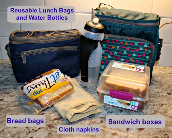How to pack a low-trash or no-trash lunch