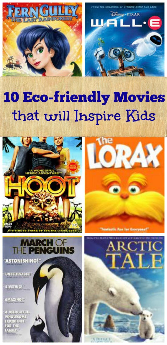 10 Animated Movies and Documentaries for Earth Day - environmental films for kids and families