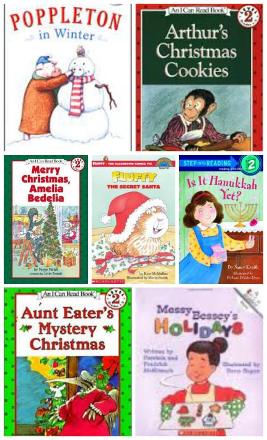 Easy REaders Book for Winter and Christmas