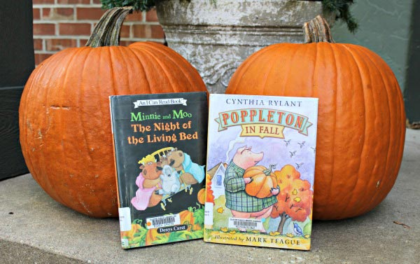 Early Reader Books for Halloween, Thanksgiving & Winter | Edventures with Kids