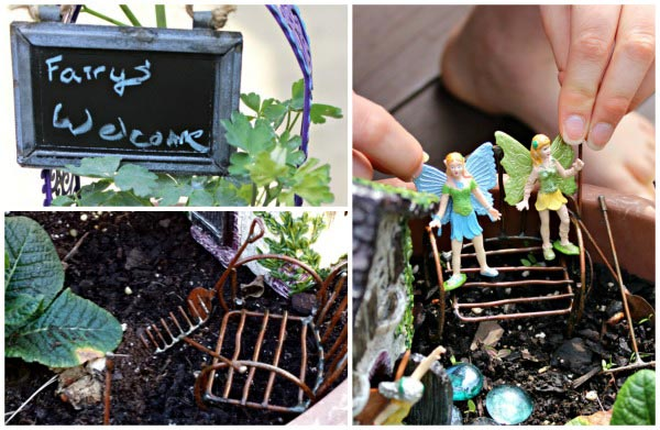 Fairy Garden Sensory Play for Kids