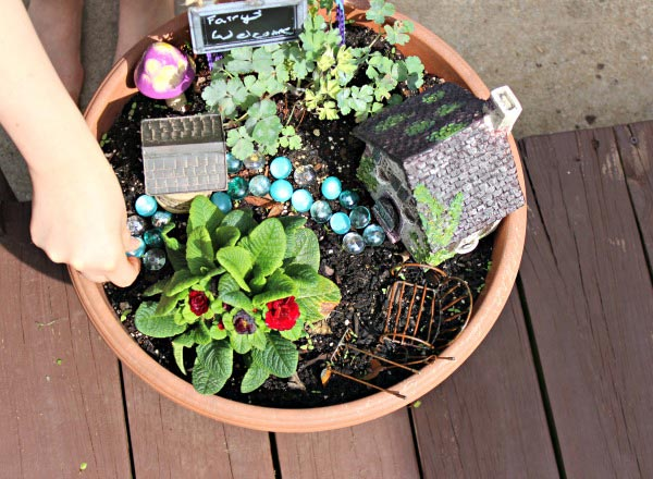 Fairy Garden Ideas for Kids