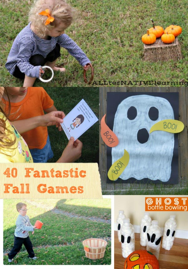 40 Fun Fall Games - Outdoor Activities for Kids