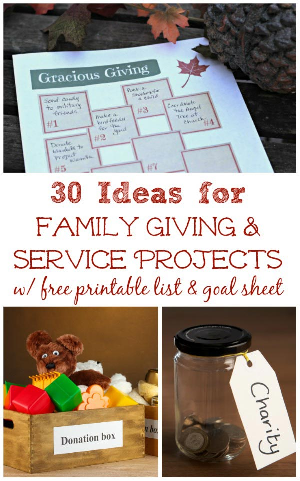 ideas for family volunteer activities during the holidays