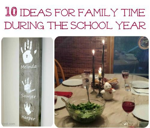 easy back to school ideas for families